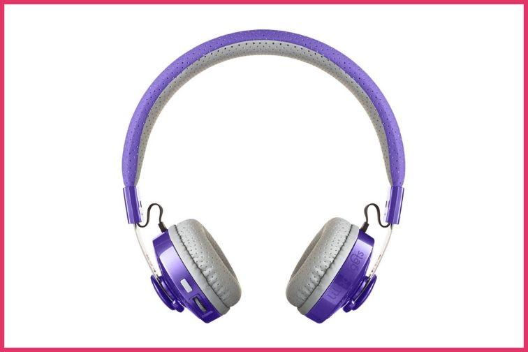 lilGadgets purple untangled headphones