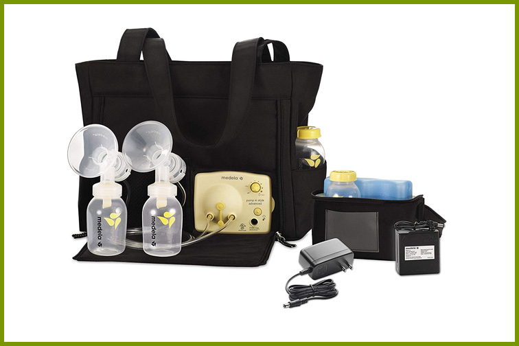 Medela Double Pump in Style Advanced with Tote ; Courtesy Amazon