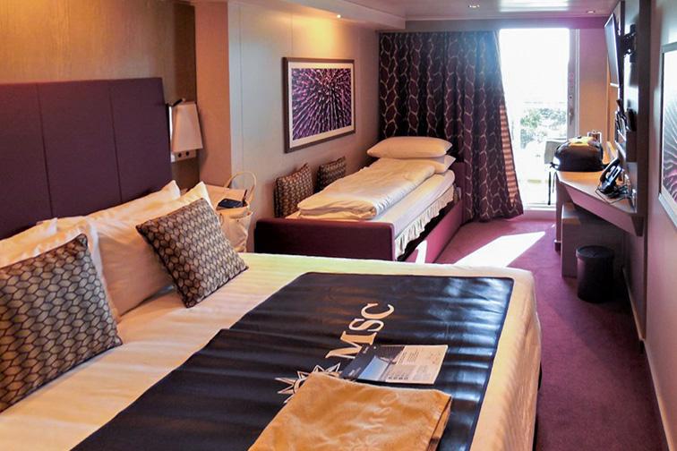 MSC Seaside Grand Suite; Courtesy Tripadvisor Traveler/glennsaddress1