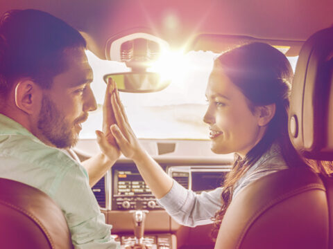 parents high five rental car; Courtesy Syda Productions/Shutterstock