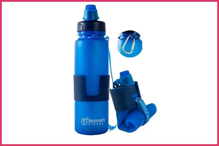 Blue Natures Trends Reusable Water Bottle