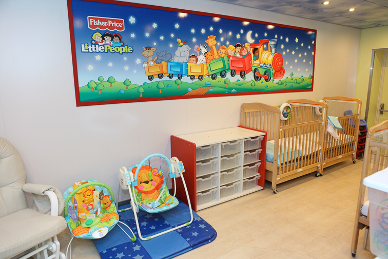Royal Baby and Tot Nursery; Courtesy Royal Caribbean
