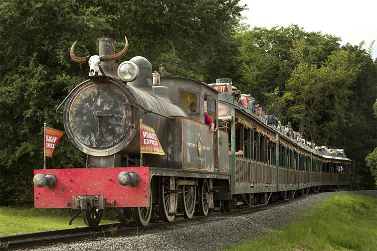 Wildlife Express Train; Courtesy Disney