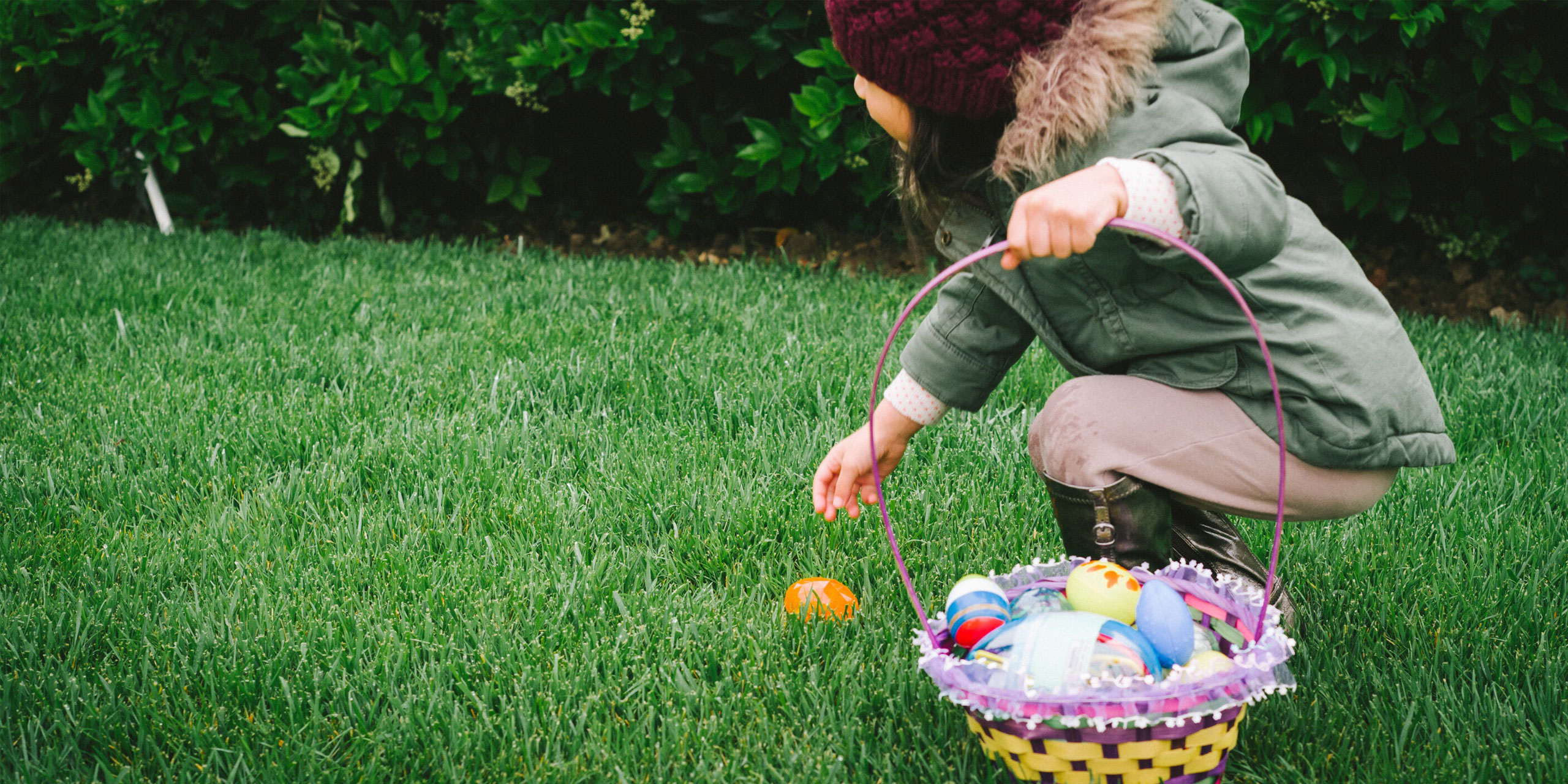 Girl with Easter Basket; Courtesy of Twenty20