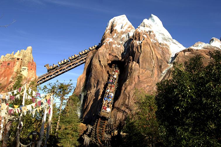 Expedition Everest; Courtesy Disney