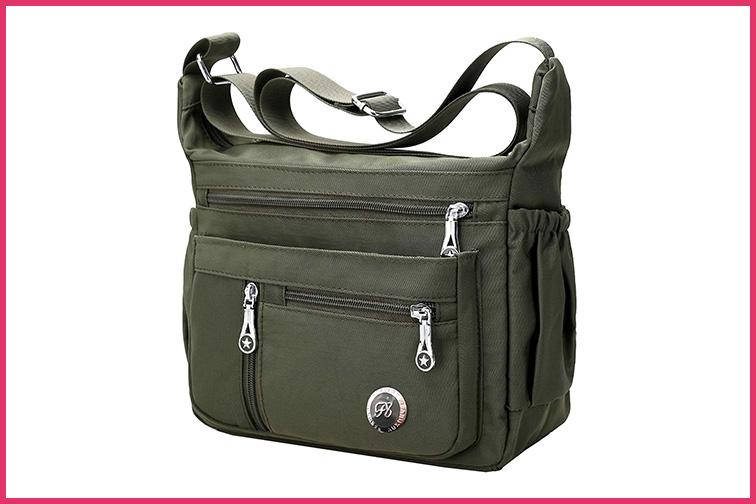 Fabuxry Crossbody Messenger Bag; Courtesy Amazon