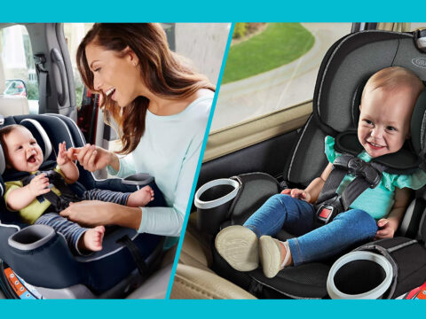 Graco 4Ever Car Seat vs. Graco Extend2Fit Car Seat