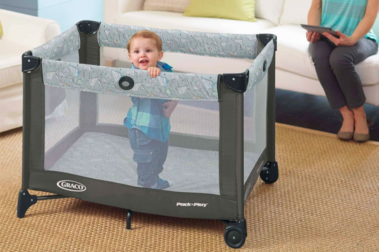 Graco Pack 'n Play Portable Playard; Courtesy Target