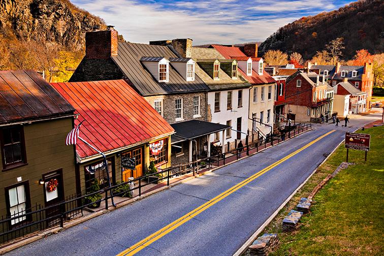 Harper's Ferry, West Virginia; Courtesy Jon Bilous/Shutterstock