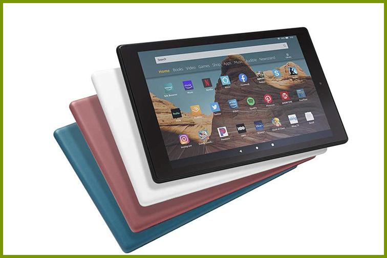 Kindle Fire Tablet; Courtesy Amazon