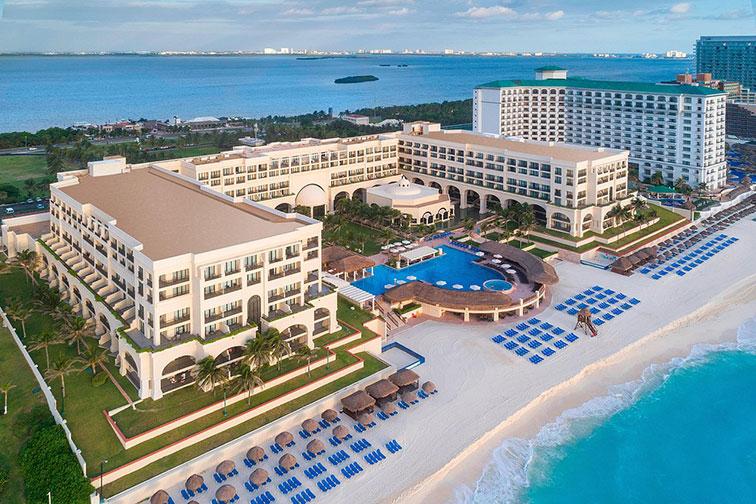 Marriott Cancun Resort; Courtesy of Marriott Cancun Resort