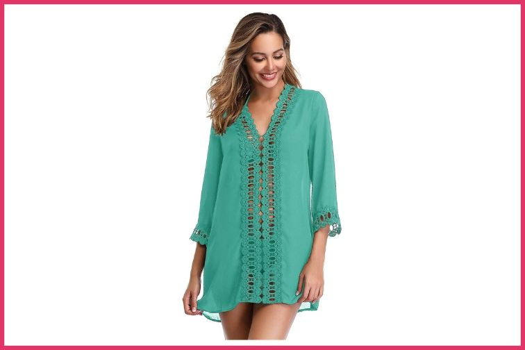 MiYang Floral Lace Cover-Up