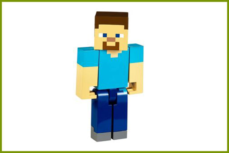 Minecraft Figure; Courtesy of Target