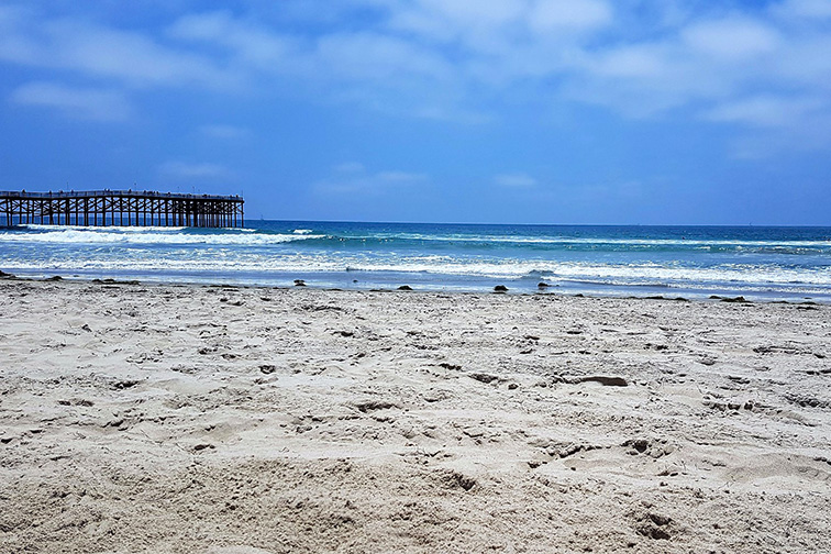Mission Point Beach on Mission Bay; Courtesy Tripadvisor Traveler/ Simon V