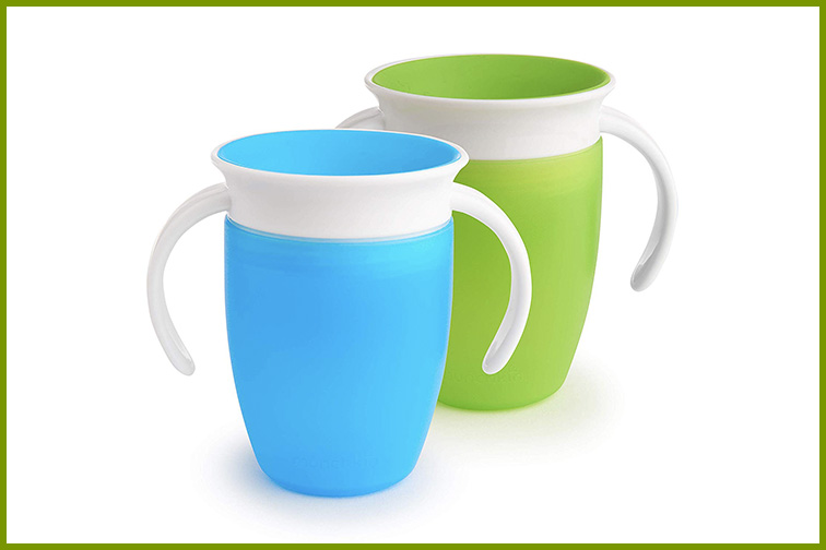 Munchkin Miracle 360 Sippy Cup; Courtesy Amazon