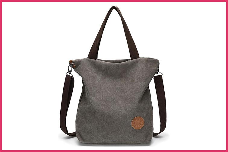 Myhozee Women Tote Crossbody Bag; Courtesy Amazon