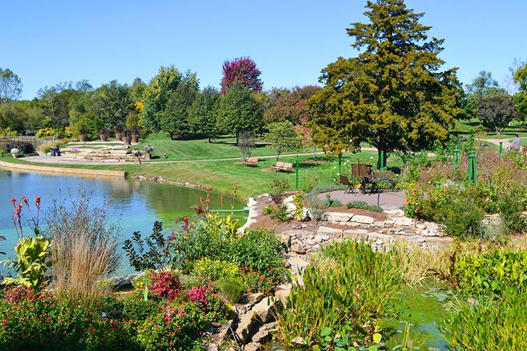 Overland Park Arboretum and Botanical Gardens.; Courtesy Tripadvisor Traveler/AntonAnderssen