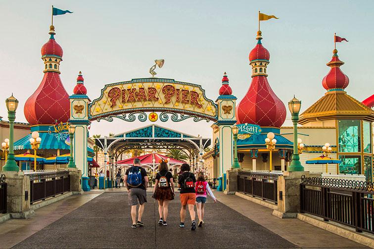 Pixar Pier at Disneyland