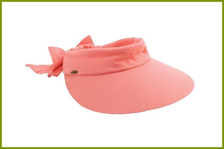Scala Visor Hat with Big Brim