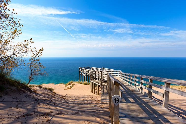 Sleeping Bear Dunes National Lakeshore, Michigan; Courtesy Craig Sterken/Shutterstock