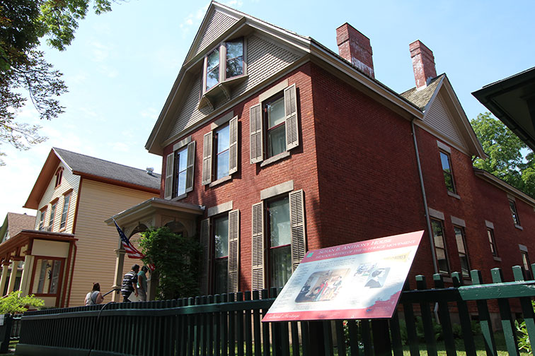 Susan B. Anthony Museum & House; Courtesy of Visit Rochester