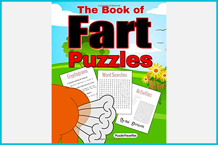 The Book of Fart Puzzles; Courtesy Amazon