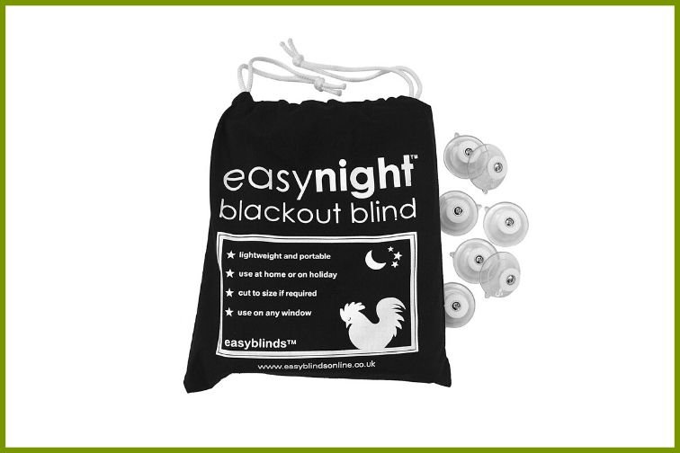 easynight Travel Blackout Blinds