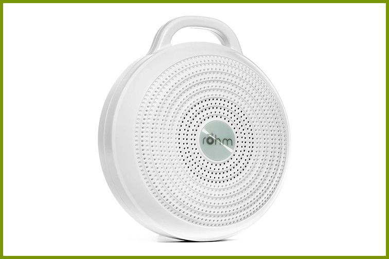 Yogasleep Rohm Portable White Noise Machine; Courtesy Amazon