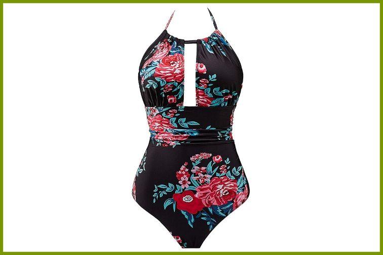B2prity Women's One-piece Backless Monokini