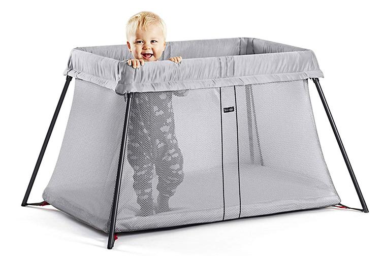 Baby Bjorn Travel Crib Light; Courtesy Amazon