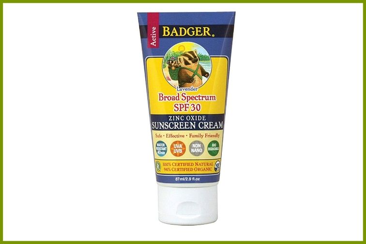 badger zinc oxide sunscreen