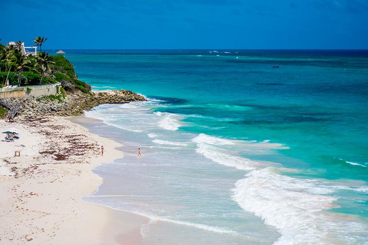 barbados crane beach; Courtesy Heidi Walley/Shutterstock