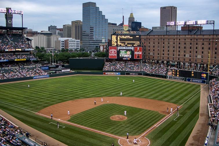 Camden Yards – Baltimore, MD; Courtesy Heath Oldham/Shutterstock