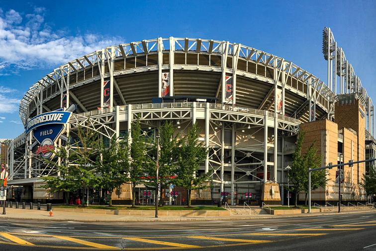 Progressive Field – Cleveland, OH; Courtesy Harold Stiver/Shutterstock