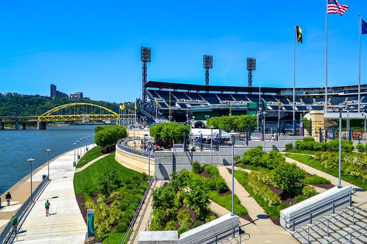PNC Park – Pittsburgh, PA; Courtesy jessica.kirsh/Shutterstock