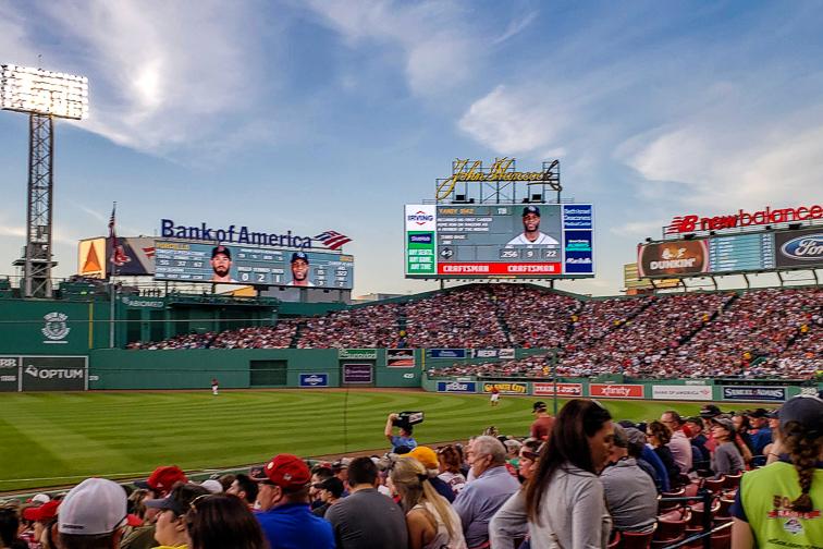 Fenway Park – Boston, MA; Courtesy Nils Backe/Shutterstock