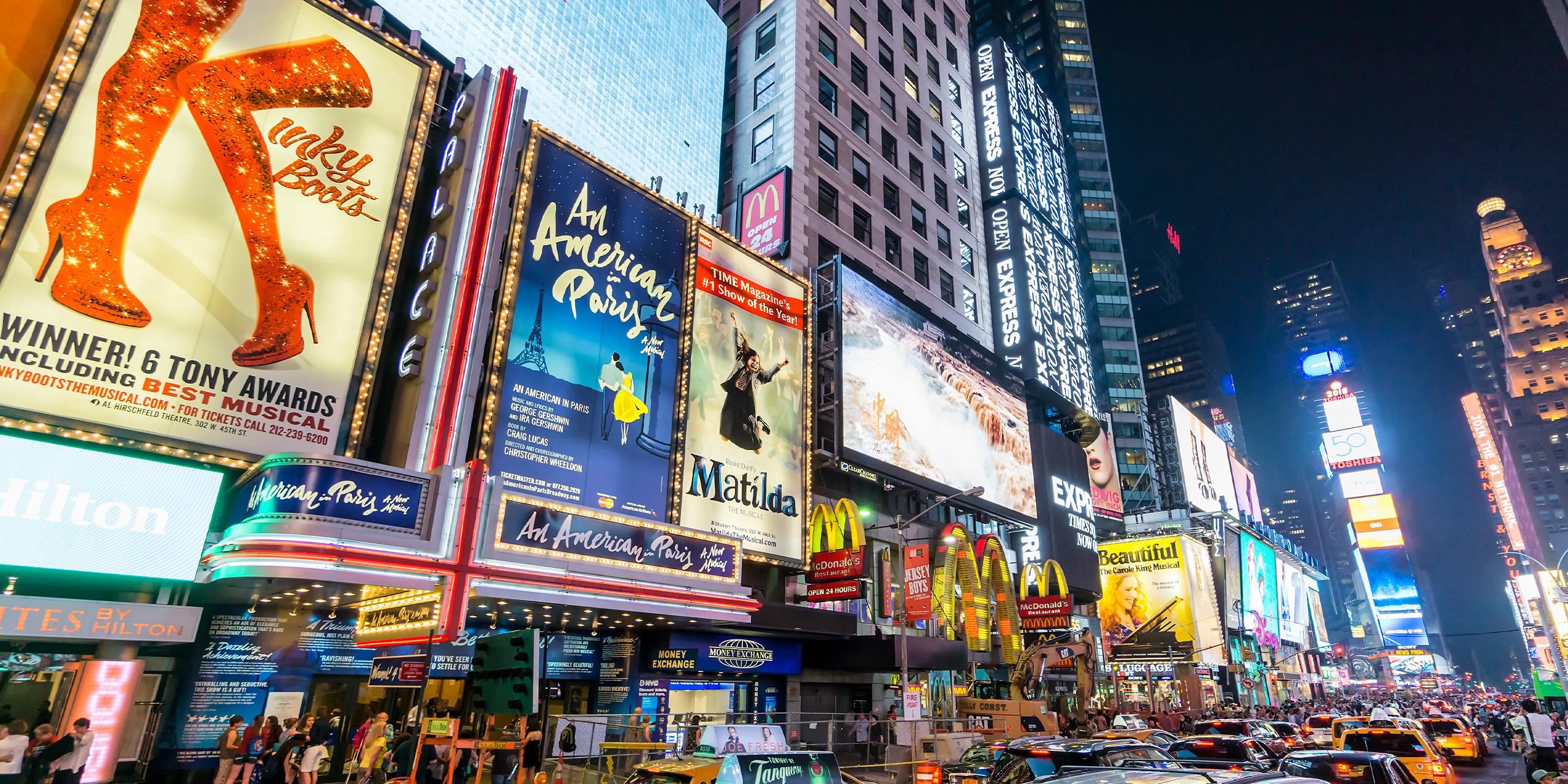 broadway musicals new york city