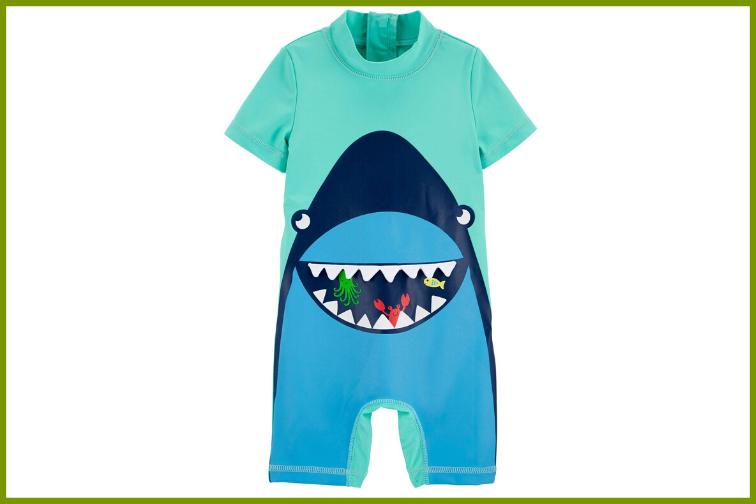 Carter's infant rashguard swimsuit
