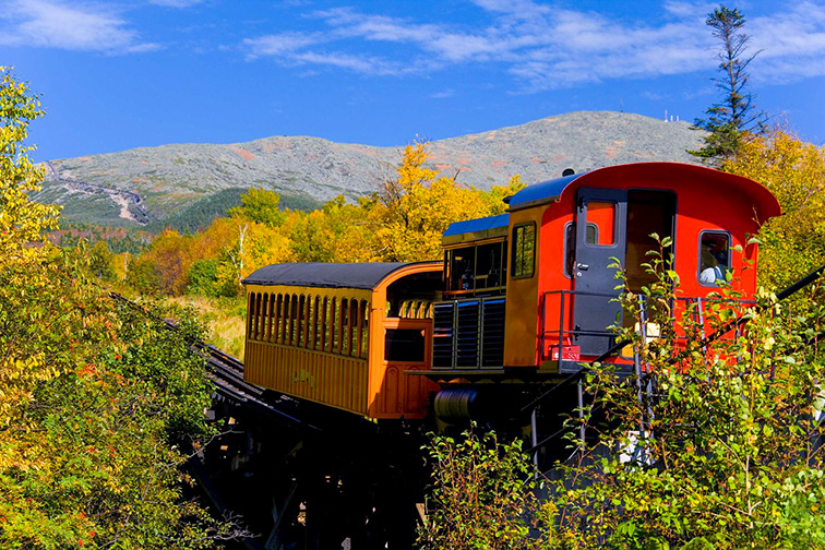 Mountain Washington Cog Railway; Courtesy Mountain Washington Cog Railway