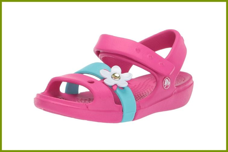 Crocs Kids' Keeley Charm Sandal