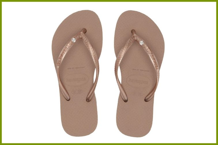 Havaianas Kids Slim Crystal Swarovski Flip-Flop