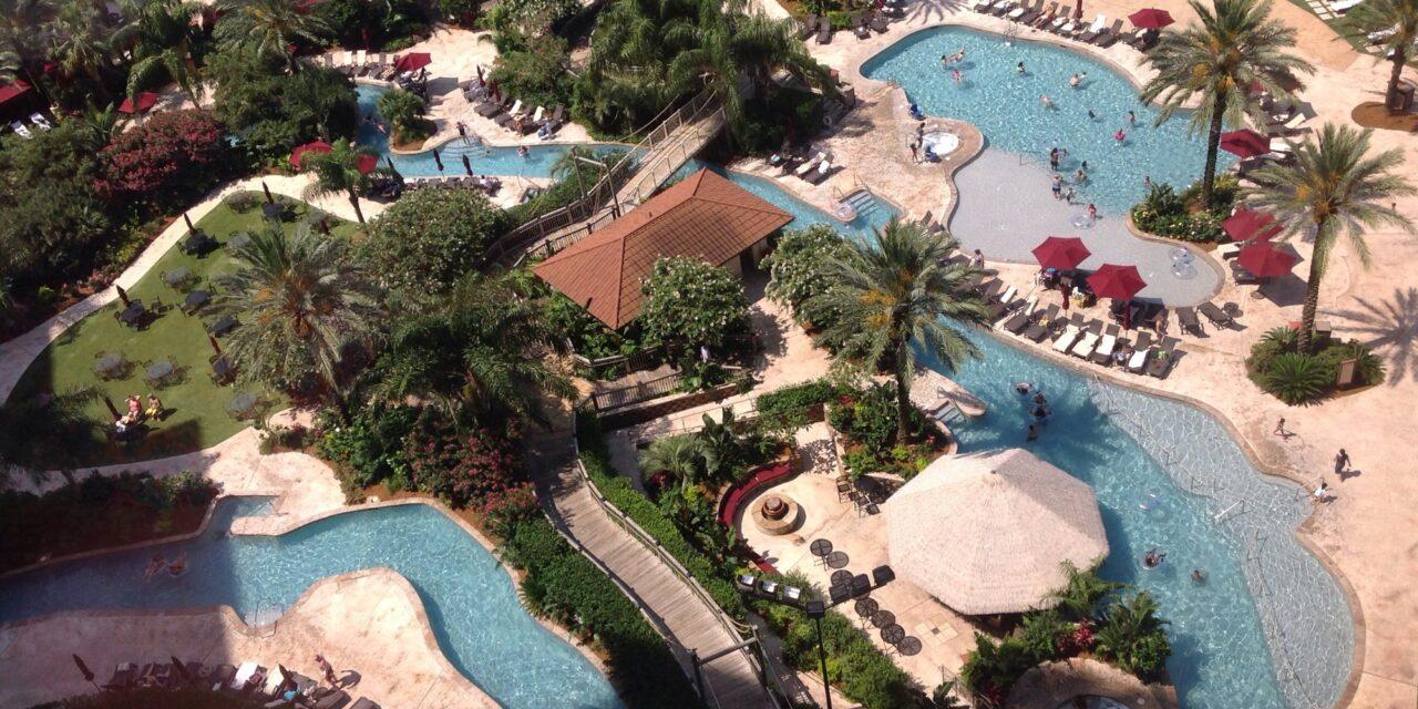 Pools at L'Auberge Casino Resort Lake Charles; Courtesy Tripadvisor Traveler Joasi23
