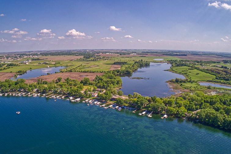 Lake Okoboji Iowa; Courtesy Jacob Boomsma/Shutterstock