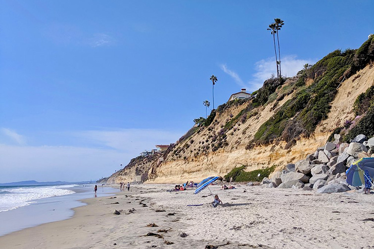Moonlight Beach in San Diego, Courtesy Tripadvisor Traveler/L. Schoelles