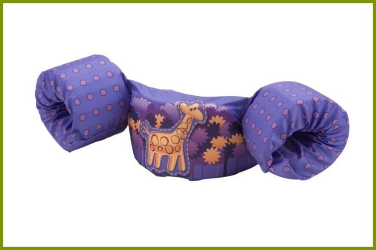 Stearns Puddle Jumper Deluxe Life Jacket Giraffe