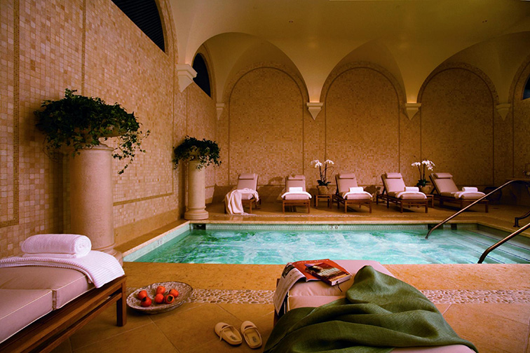 the spa at the resort at pelican hill; Courtesy Pelican Hill