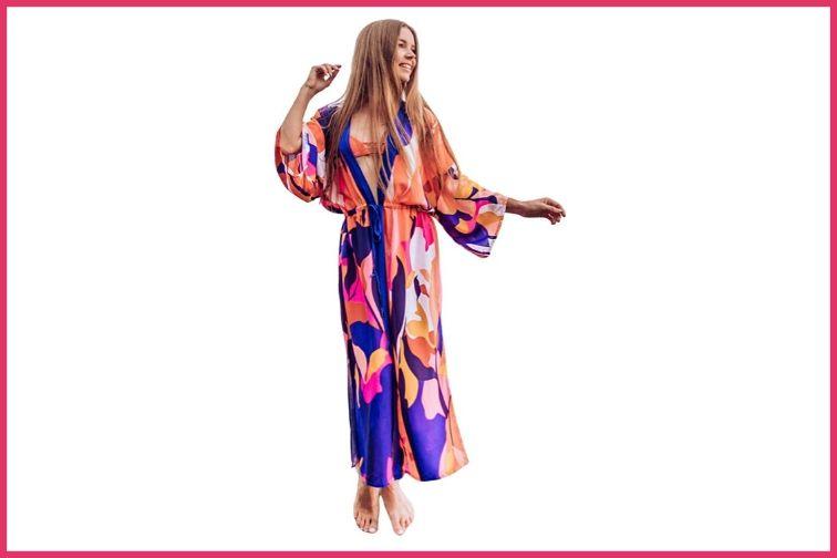 Long Kimono Cover up