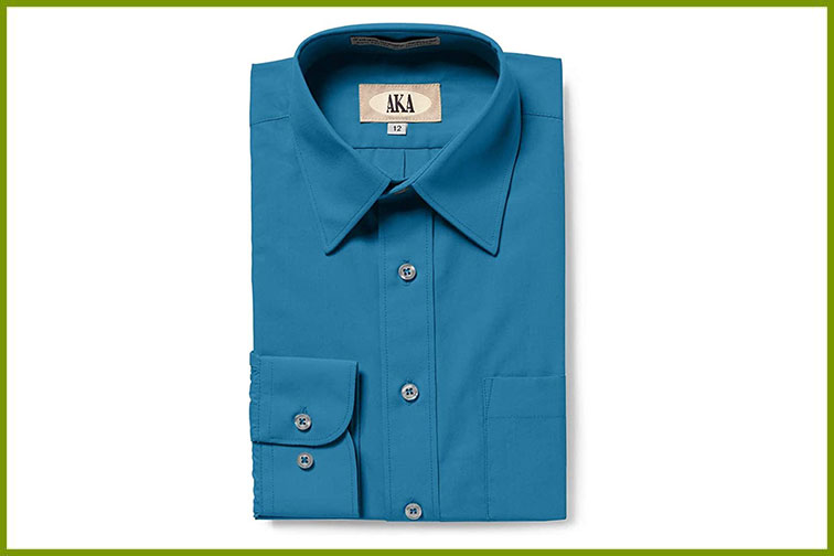 Aka boys dress shirt; Courtesy of Amazon