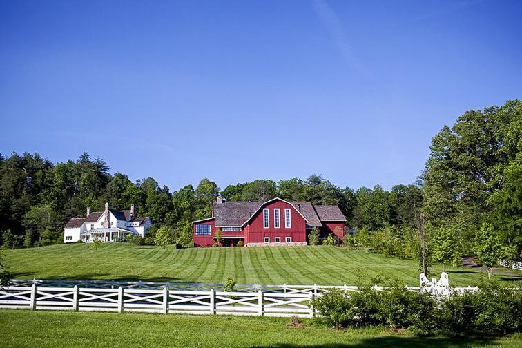 Blackberry Farm – Walland, Tennessee; Courtesy Blackberry Farm
