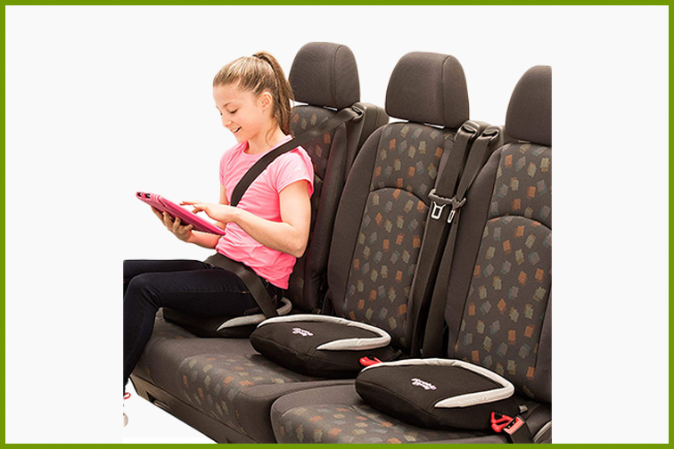 BubbleBum Inflatable Backless Booster Car Seat; Courtesy Amazon